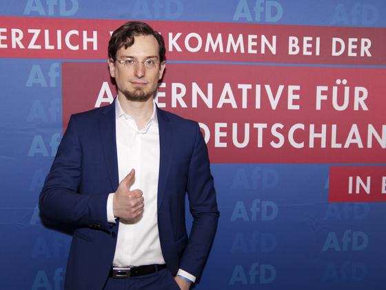 Direktkandidat Tobias Peterka