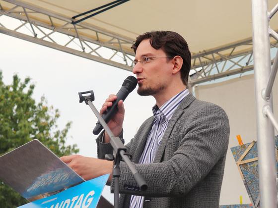 Tobias Matthias Peterka beim Deutschlandfest
